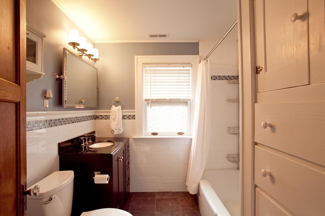 Bathroom Remodeling Before And After oakwood bathroom renovation | nest designs llc