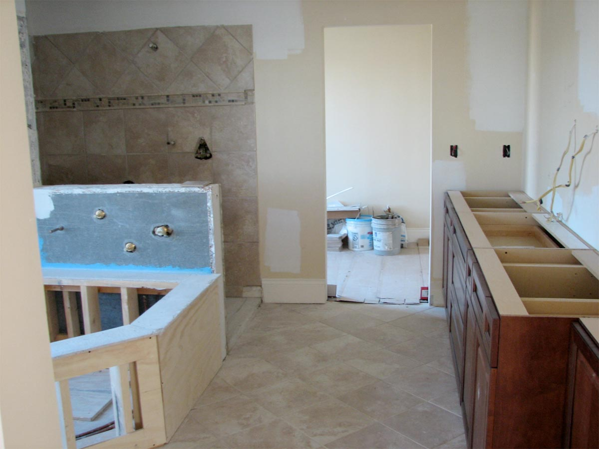 Bathroom Remodel Pictures Before And After master bathroom in oakwood – before | nest designs llc