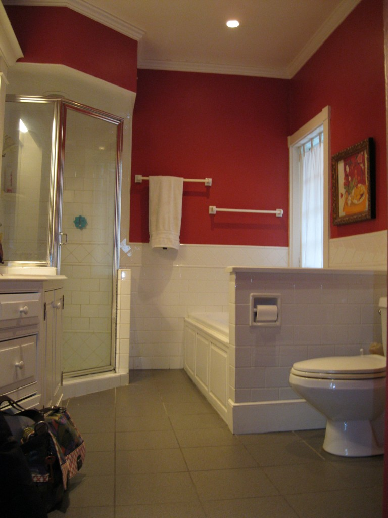 Before image of the Master Bathroom