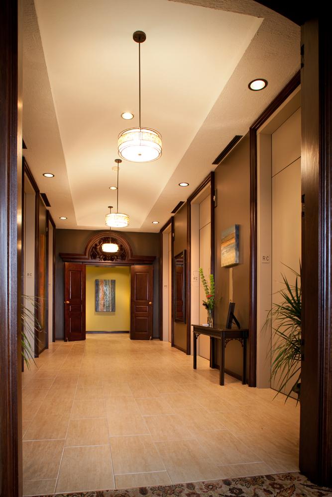 Dayton Racquet Club - Elevator Bay