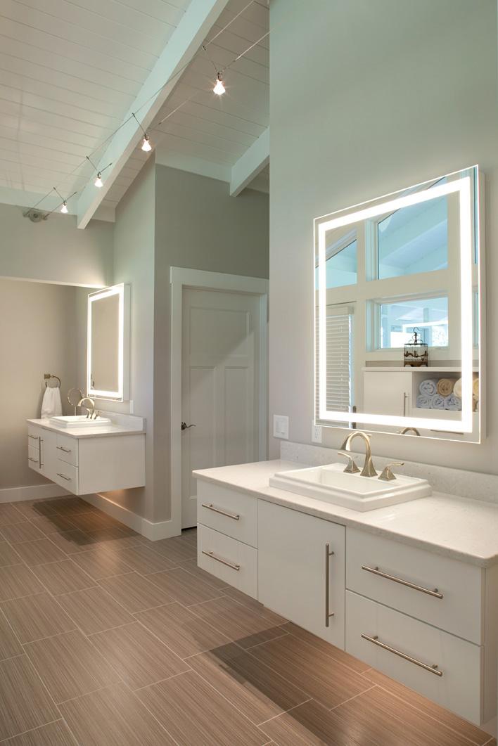 Master bathroom nest designs llc for Lighting in master bathroom