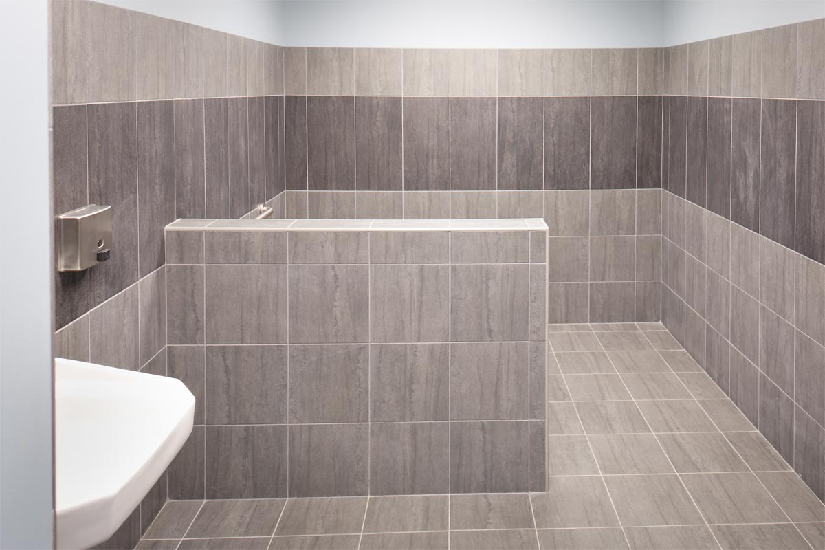 commercial bathroom tile office design nest designs llc 12406