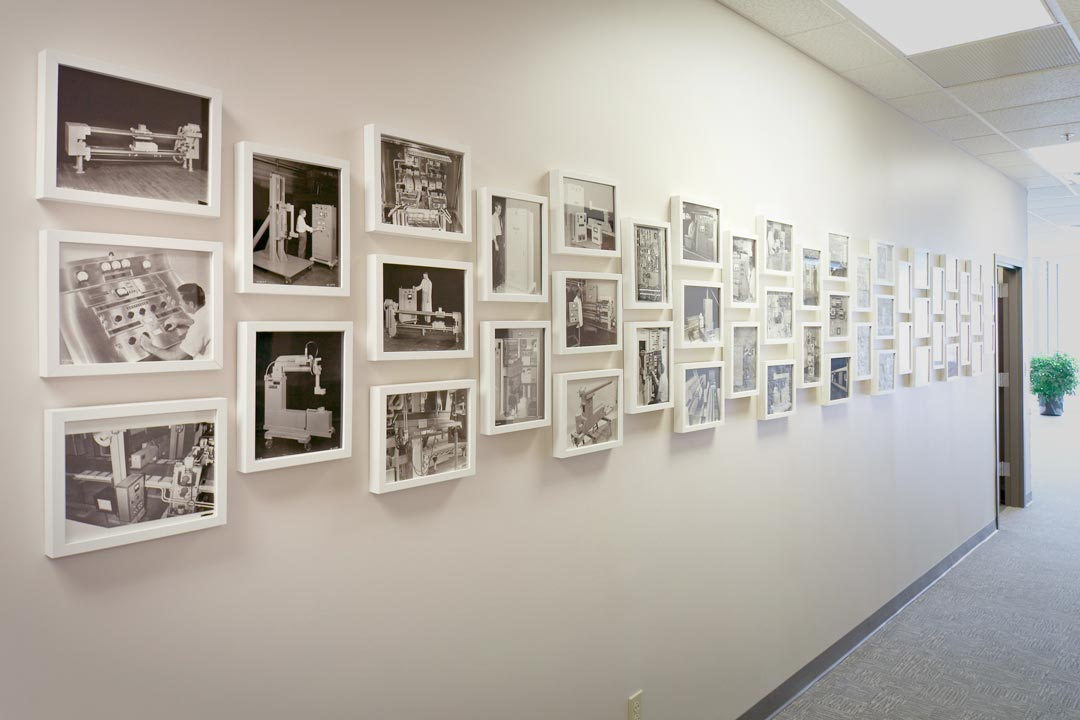 Office Wall Frames Intended Photography Wall Commercial Office Design Nest Designs Llc