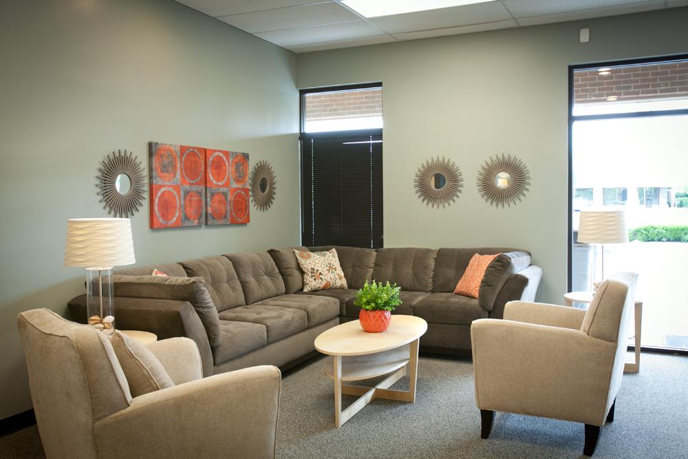 Foyer Seating Area : Church lobby nest designs llc